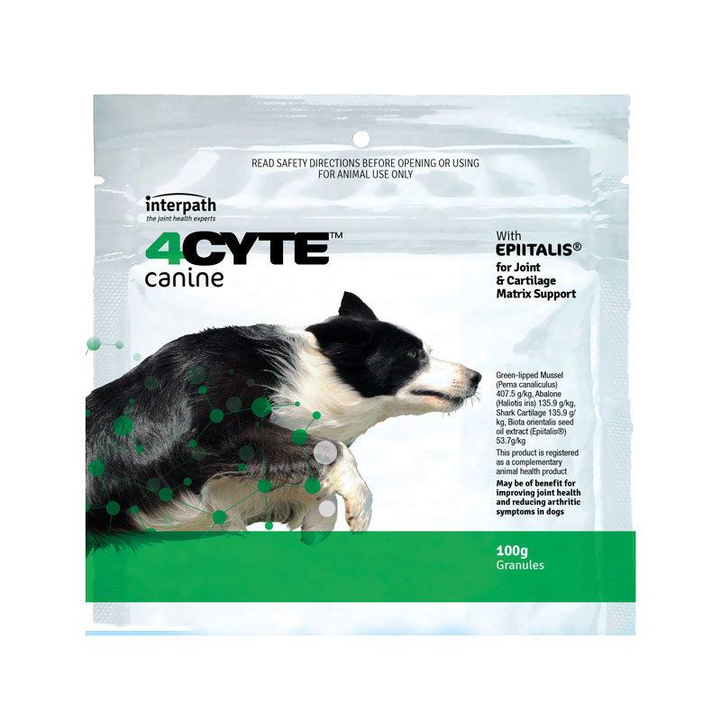 4CYTE Dog Joint Supplement Granules 100g Sachet 1