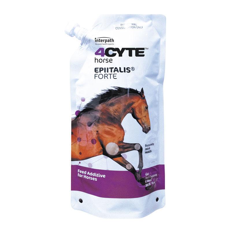 4CYTE Horse Epiitalis Forte Gel 1 Litre Pouch 1