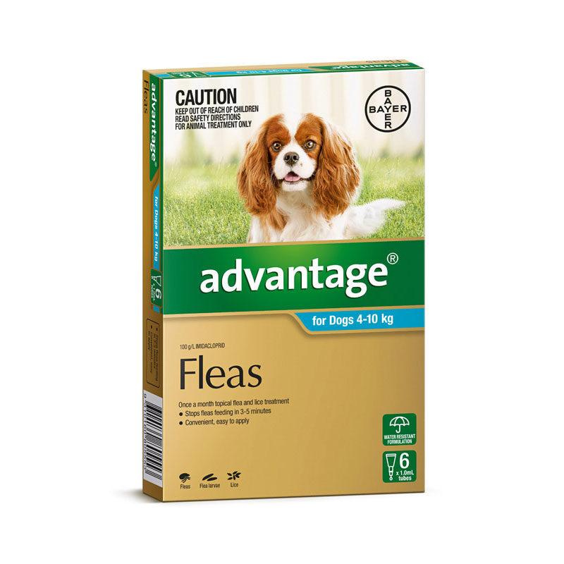 Advantage Aqua Spot-On for Medium Dogs - 6 Pack 1