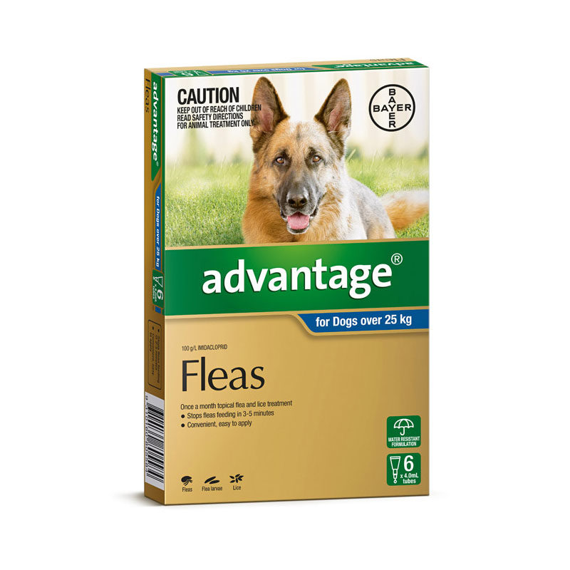 Advantage Blue Spot-On for Very Large Dogs - 6 Pack 1