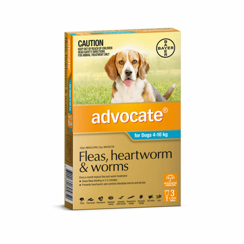 Advocate Aqua Spot-On for Medium Dogs - 3 Pack 1