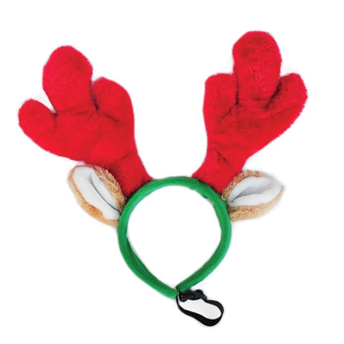 ZippyPaws Holiday Antlers Large 1
