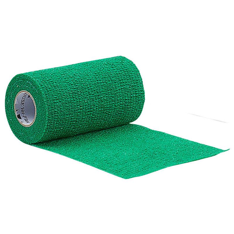 KRUUSE Vet-Flex Bandage 7.5cm Green 1