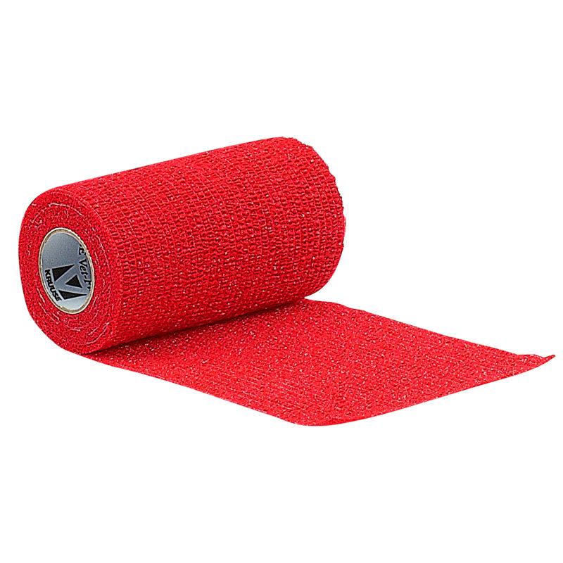 KRUUSE Vet-Flex Bandage 5cm Red 1