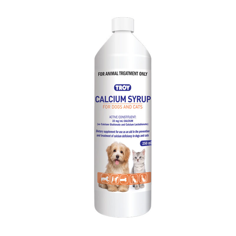 Calcium Syrup for Dogs & Cats 250ml