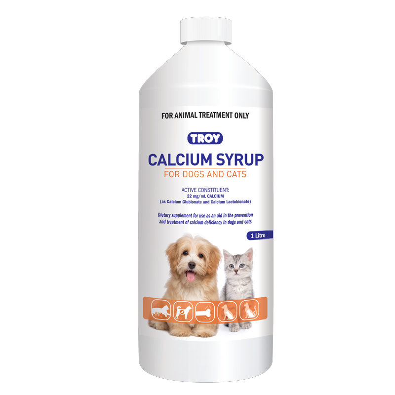 Calcium Syrup for Dogs & Cats 1L