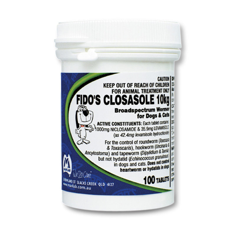 Fido's Closasole 10kg Tablets