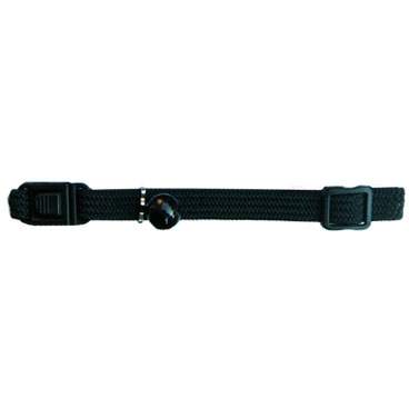 Beau Pets Nylon Elastic Cat Collar - Black 1