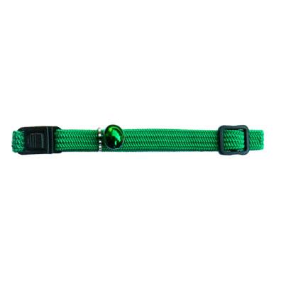 Beau Pets Nylon Elastic Cat Collar - Green 1