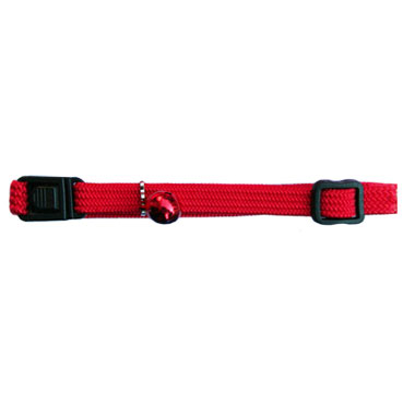 Beau Pets Nylon Elastic Cat Collar - Red 1