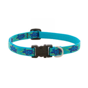Lupine Turtle Reef Large Dog Collar 12-20""