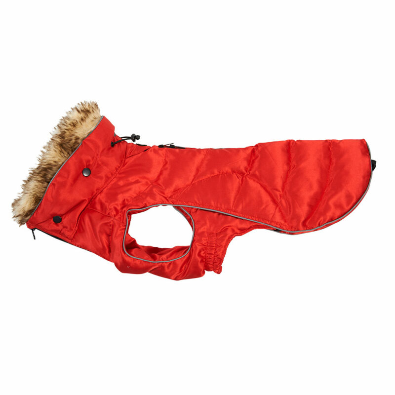 BUSTER Active Winter Dog Coat High Risk Red Large 1