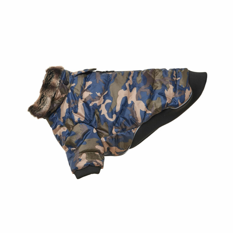 BUSTER Country Winter Dog Coat Camouflage Large 1