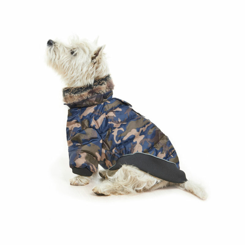 BUSTER Country Winter Dog Coat Camouflage Large 2