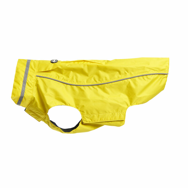 BUSTER Classic Dog Raincoat Lemon Small/Medium 1