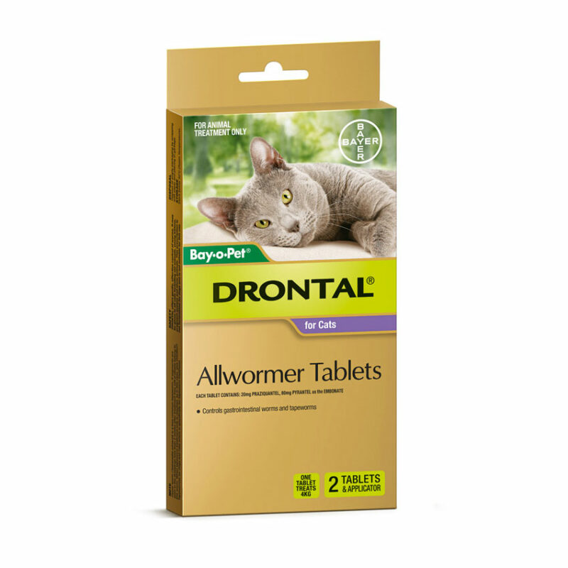 Drontal Allwormer Tablets for Dogs (up to 10kg) - 5 Pack 5