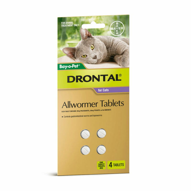 Drontal Allwormer Tablets for Dogs (up to 10kg) - 5 Pack 6