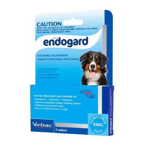 Endogard Allwormer for Very Large Dogs - 2 Pack 1