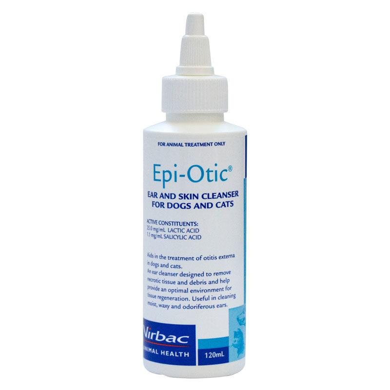 Epi-Otic Skin & Ear Cleanser for Dogs & Cats 120ml 1