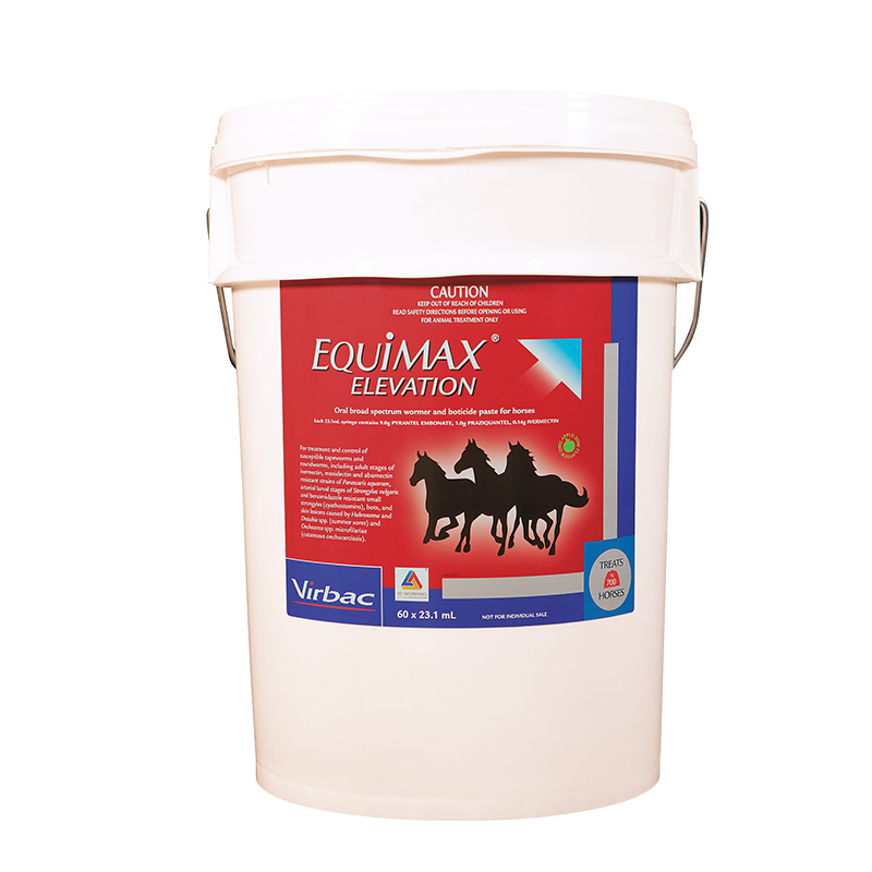 Equimax Elevation Stable Pail 23.1ml x 60 Syringes
