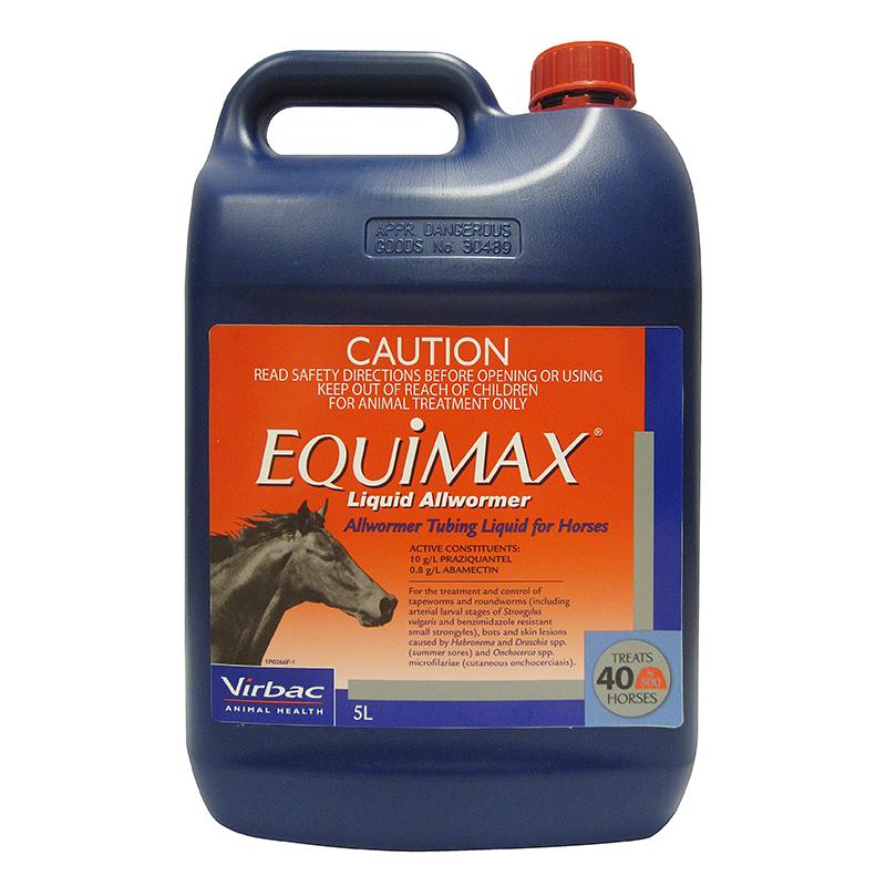 Equimax Liquid Allwormer 5L