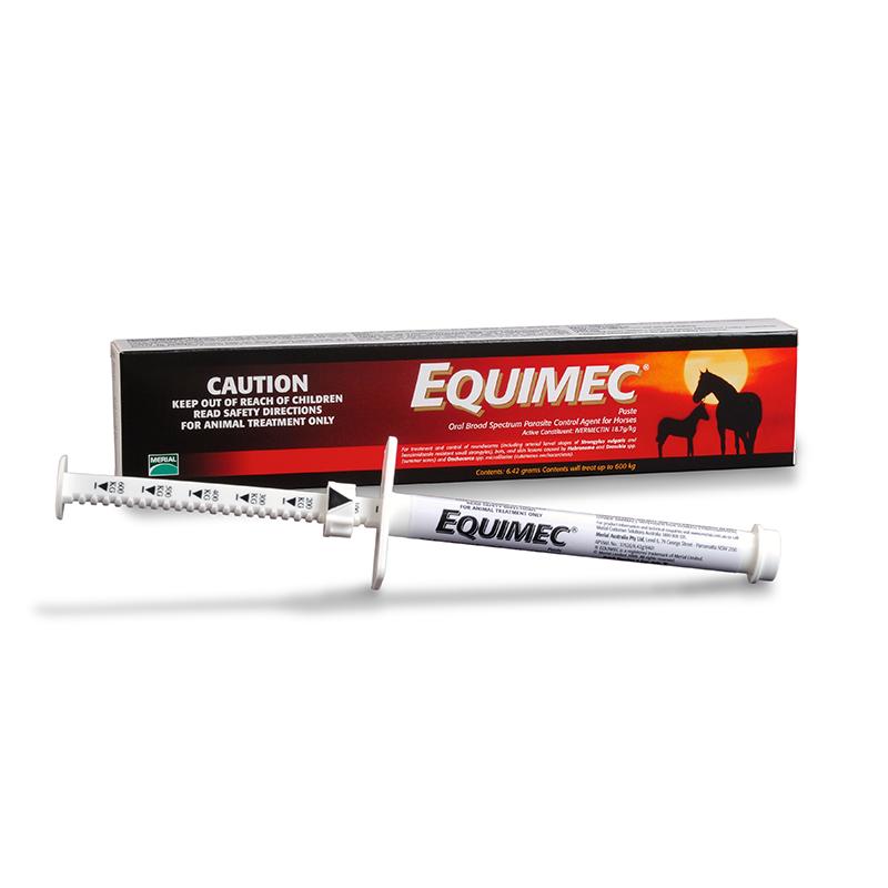 Equimec Paste 6.42g Syringe