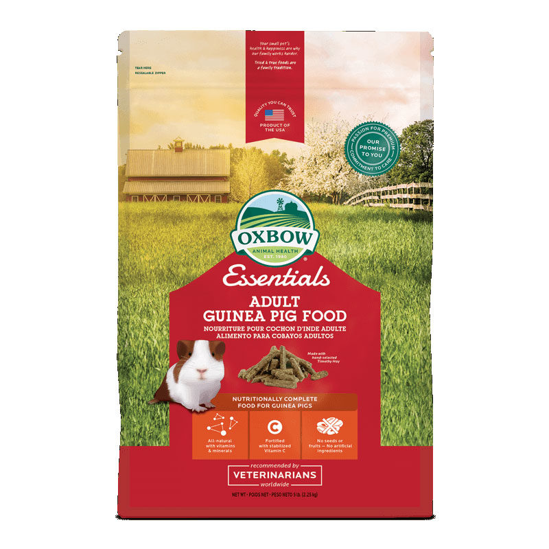 Oxbow Essentials Adult Guinea Pig Food 2.25kg 1