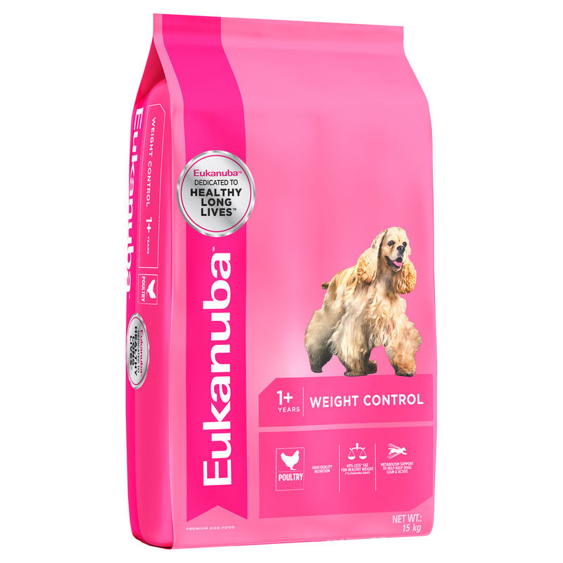 Eukanuba Adult Dog Weight Control All Breed 15kg 1