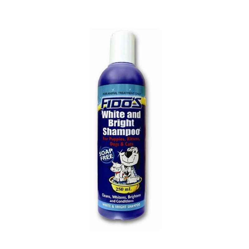 Fido's White and Bright Shampoo 250ml
