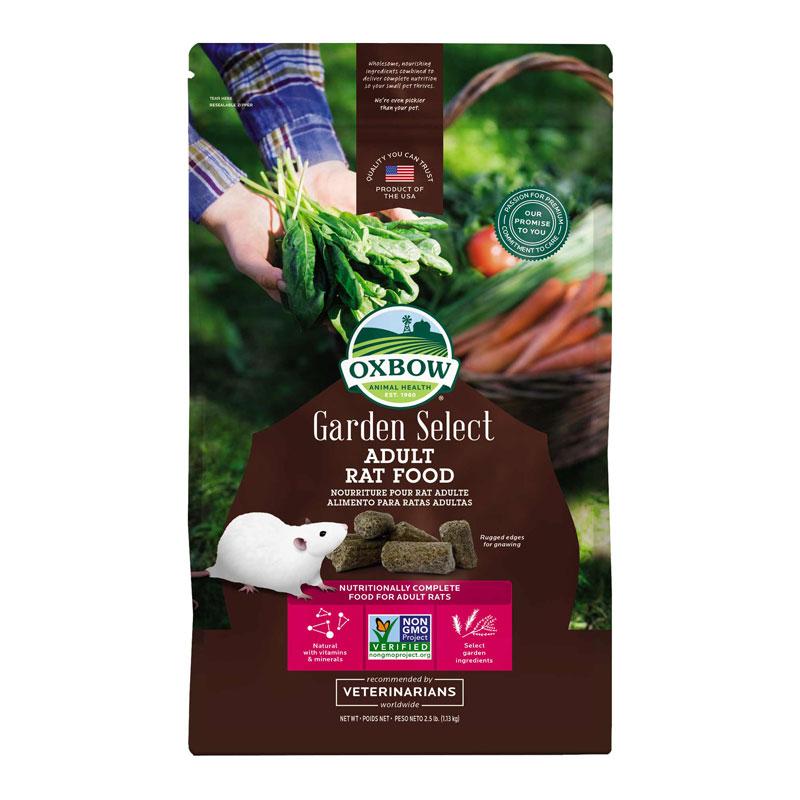 Oxbow Garden Select Adult Rat Food 1.13kg 1