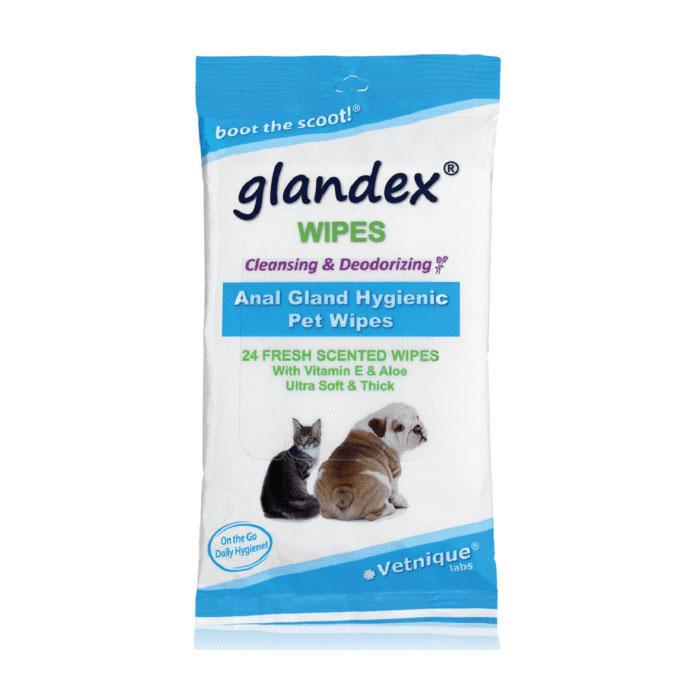 Glandex Anal Gland Hygienic Pet Wipes 24 Pack 1