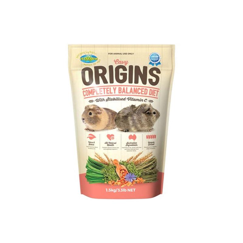 Vetafarm Cavy Origins Guinea Pig Food 1.5kg