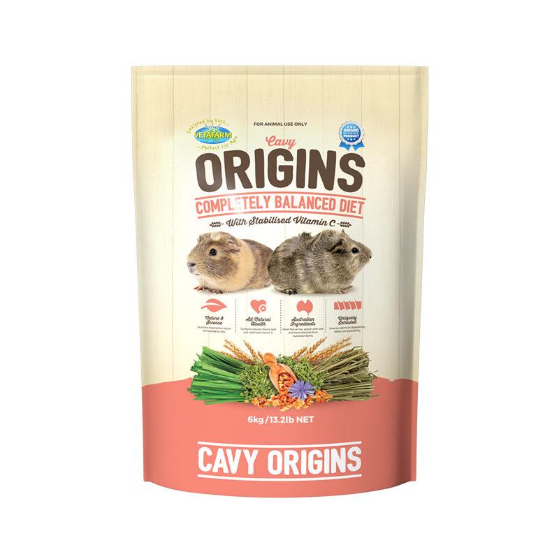 Vetafarm Cavy Origins Guinea Pig Food 6kg