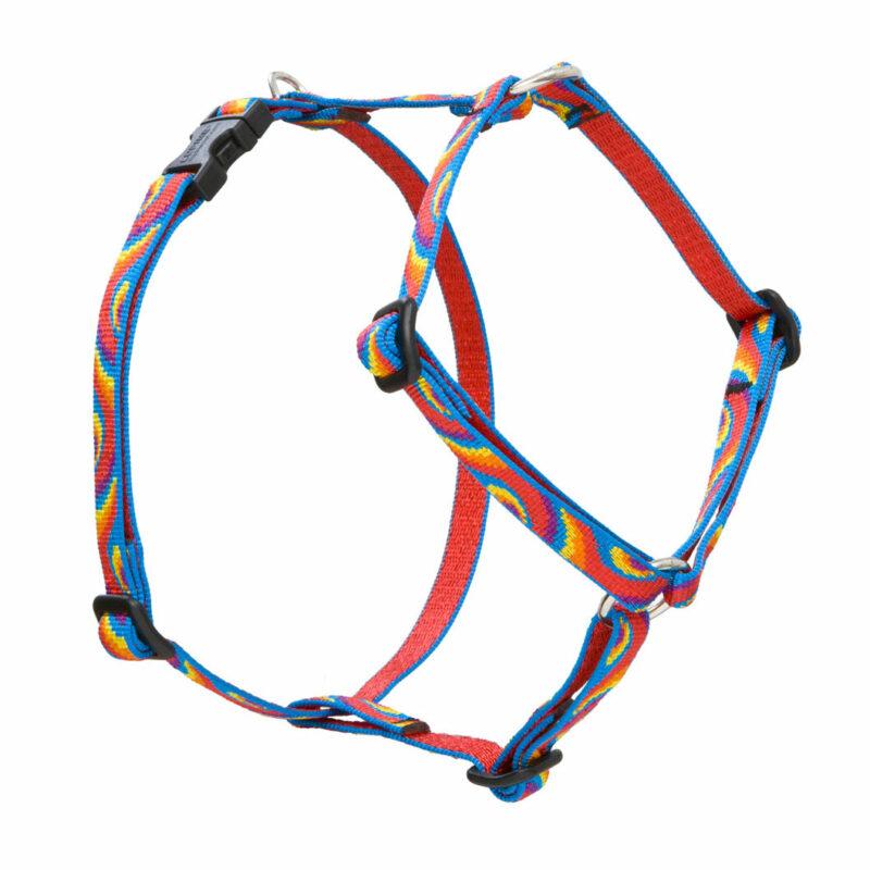 "Lupine Lollipop Small Dog Roman Harness 9-14"" 1"