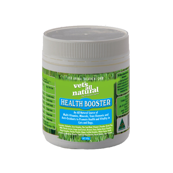 Vets All Natural Health Booster 500g 1