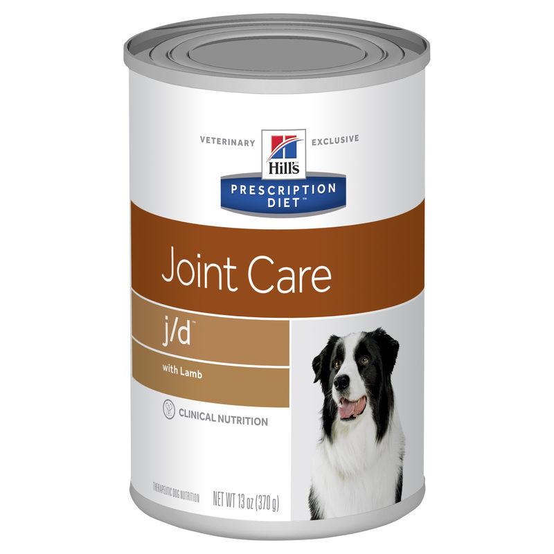 Hills Prescription Diet Canine j/d Joint Care with Lamb 370g x 12 Cans 1