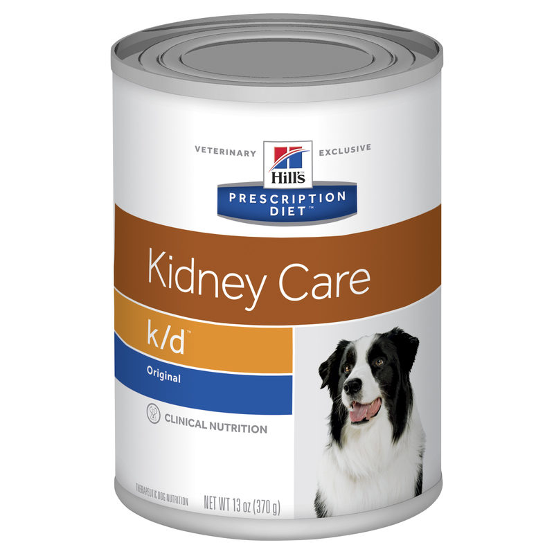 Hills Prescription Diet Canine k/d Kidney Care Original Flavour 370g x 12 Cans 1