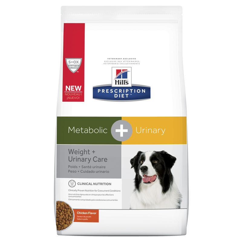 Hills Prescription Diet Canine Metabolic + Urinary 3.85kg 1