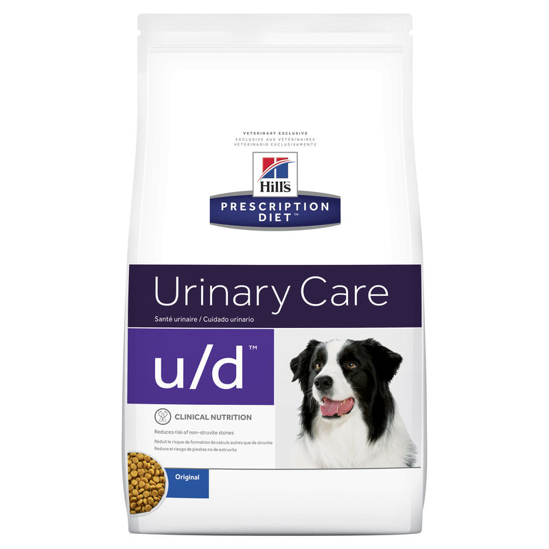 Hills Prescription Diet Canine u/d Urinary Care/Bladder Health 3.85kg 1