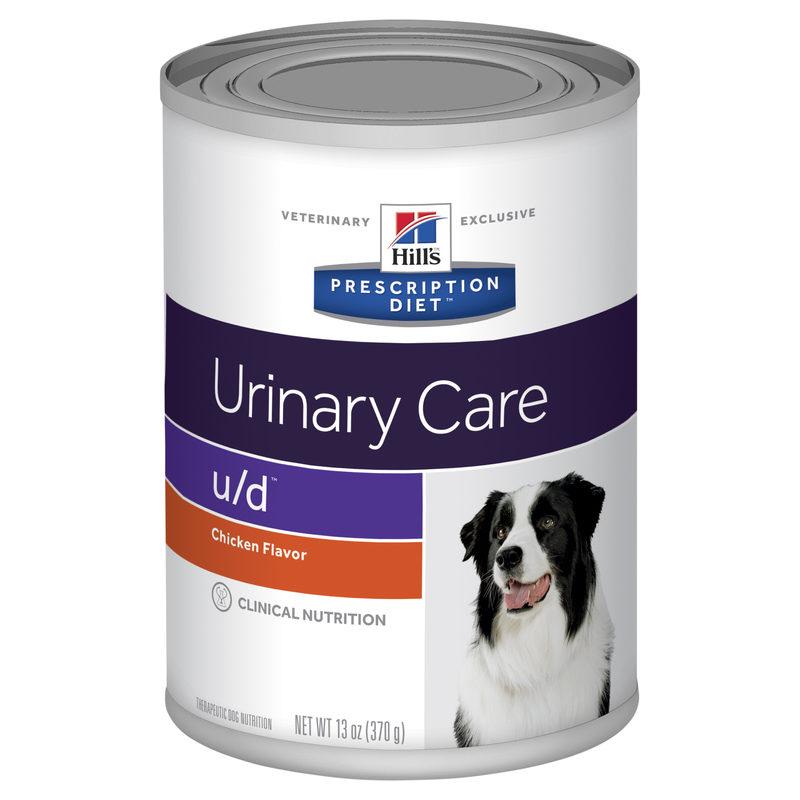 Hills Prescription Diet Canine u/d Urinary Care/Bladder Health 370g x 12 Cans 1