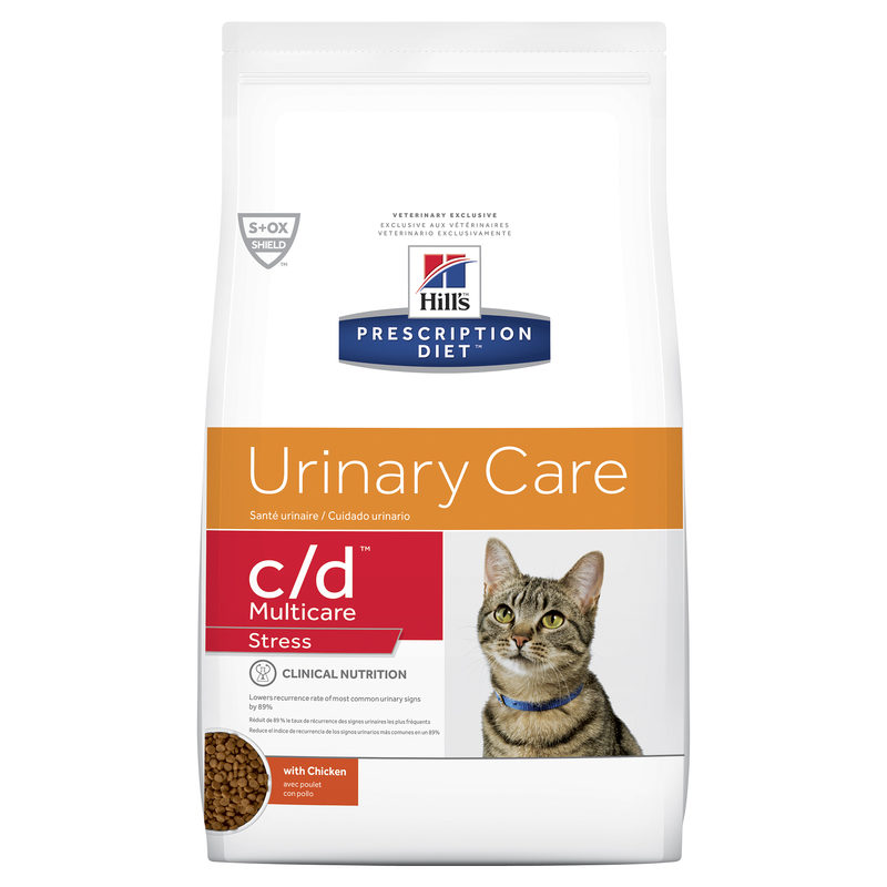 Hills Prescription Diet Feline c/d Urinary Multicare Stress 3.85kg 1