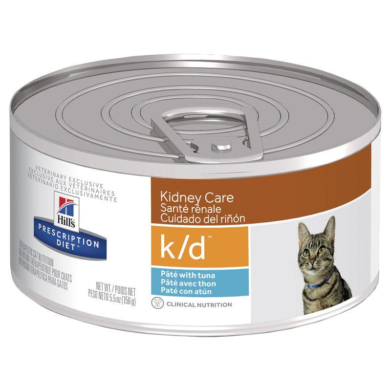 Hills Prescription Diet Feline k/d Kidney Care with Ocean Fish 156g x 24 Cans 1