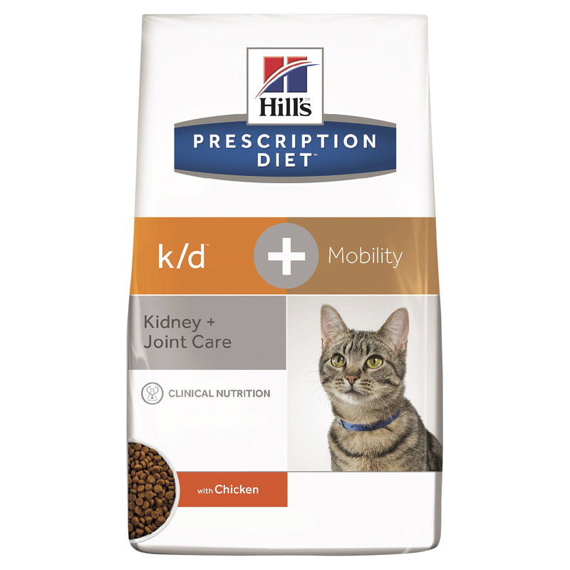 Hills Prescription Diet Feline k/d Kidney Care + Mobility 2.88kg 1