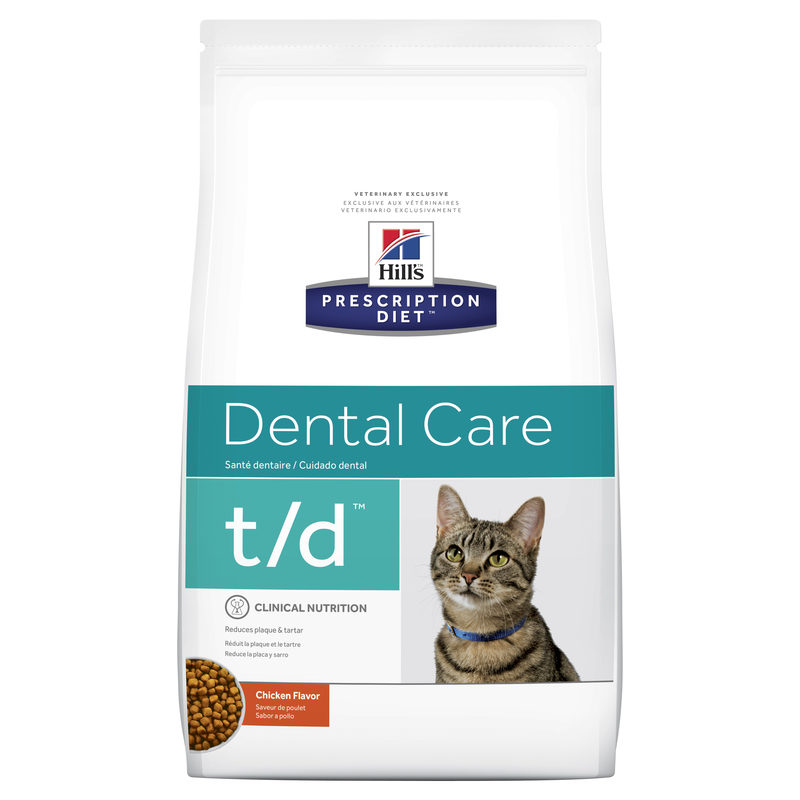 Hills Prescription Diet Feline t/d Dental Care 3kg 1