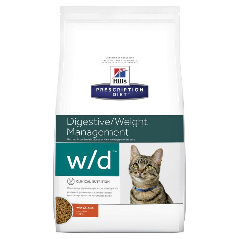 Hills Prescription Diet Feline w/d Digestive/Weight Management 1.5kg 1
