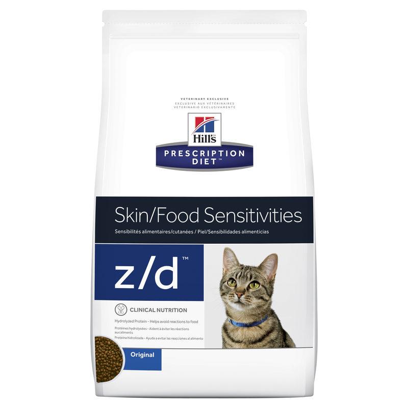 Hills Prescription Diet Feline z/d Skin/Food Sensitivities 3.8kg 1