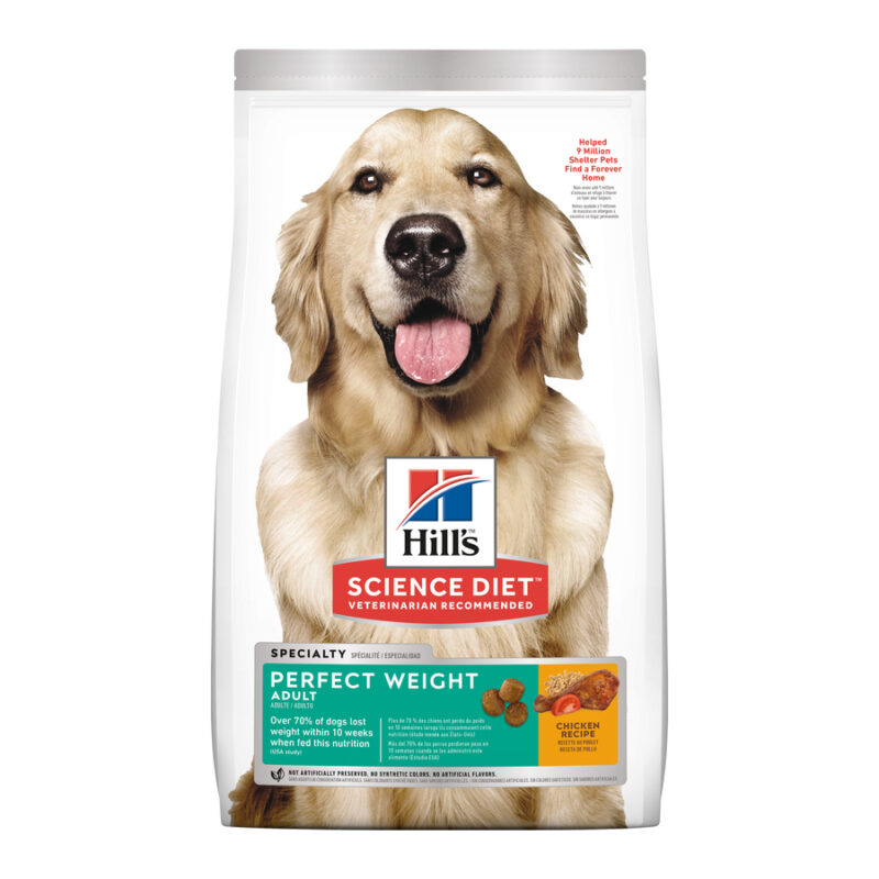 Hills Science Diet Adult Dog Perfect Weight 1.8kg 1