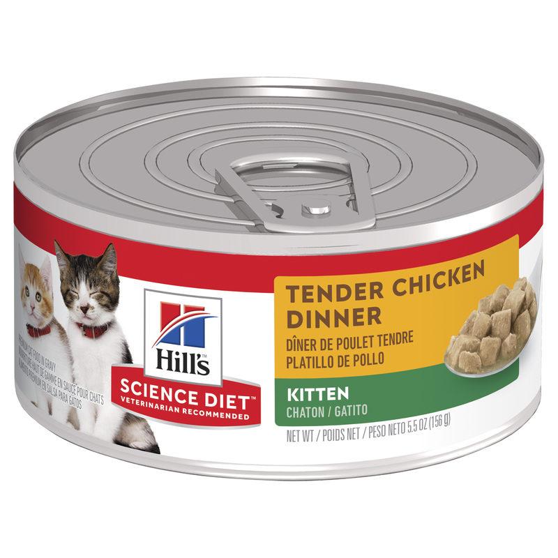 Hills Science Diet Kitten Tender Chicken Dinner 156g x 24 Cans 1