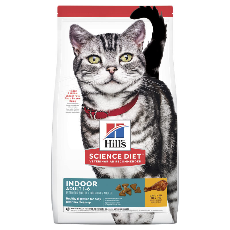 Hills Science Diet Adult Indoor Cat 4kg 1