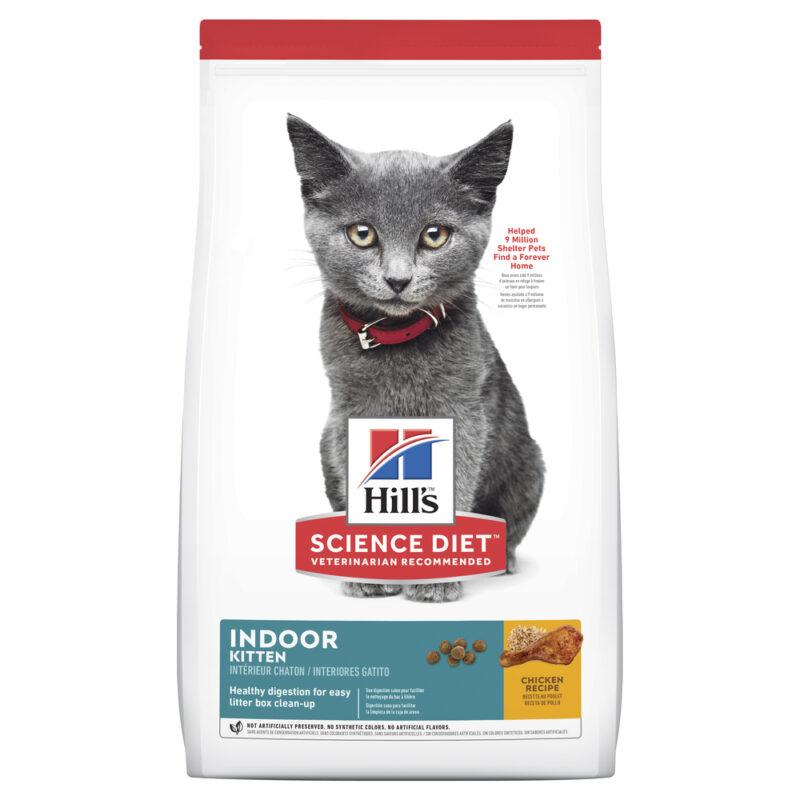 Hills Science Diet Kitten Indoor Cat 1.58kg 1